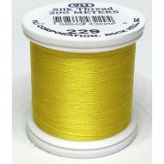 YLI Silk 100 Thread -229 Yellow