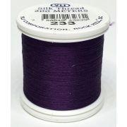 YLI Silk 100 Thread -233 Aubergine