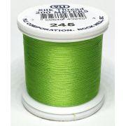 YLI Silk 100 Thread -245 Bright Lime Green