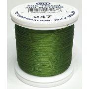 YLI Silk 100 Thread -247 Spring Green