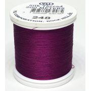 YLI Silk 100 Thread -248 Ruby