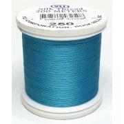 YLI Silk 100 Thread -250 Turquoise