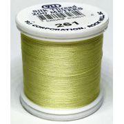 YLI Silk 100 Thread -261 Pastel Yellow