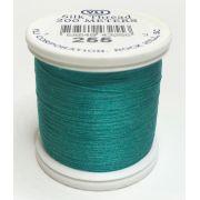 YLI Silk 100 Thread -255 Green Peacock
