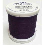 YLI Silk 100 Thread -258 Deep Eggplant
