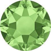 Swarovski Hotfix Flatback Crystals Peridot SS10 by Swarovski - Stone Size SS10 & SS12 (2.8-3.2mm)