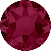 Swarovski Hotfix Flatback Crystals Ruby SS10 by Swarovski - Stone Size SS10 & SS12 (2.8-3.2mm)