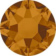 Swarovski Hotfix Flatback Crystals Crystal Copper SS34 by Swarovski - Stone Size SS34 (7mm)