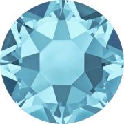 Swarovski Hotfix Flatback Crystals Aquamarine SS34 by Swarovski - Stone Size SS34 (7mm)