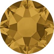 Swarovski Hotfix Flatback Crystals Topaz SS34 by Swarovski - Stone Size SS34 (7mm)