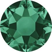 Swarovski Hotfix Flatback Crystals Emerald SS34 by Swarovski - Stone Size SS34 (7mm)