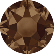 Swarovski Hotfix Flatback Crystals Smoked Topaz SS10 by Swarovski - Stone Size SS10 & SS12 (2.8-3.2mm)