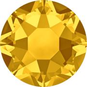 Swarovski Hotfix Flatback Crystals Light Topaz SS34 by Swarovski - Stone Size SS34 (7mm)