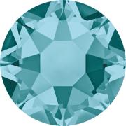 Swarovski Hotfix Flatback Crystals Blue Zircon SS34 by Swarovski - Stone Size SS34 (7mm)