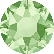 Swarovski Hotfix Flatback Crystals Chrysolite SS34 by Swarovski - Stone Size SS34 (7mm)