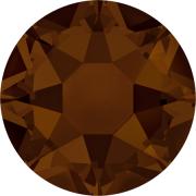 Swarovski Hotfix Flatback Crystals Mocha SS34 by Swarovski - Stone Size SS34 (7mm)