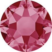Swarovski Hotfix Flatback Crystals Indian Pink SS34 by Swarovski - Stone Size SS34 (7mm)