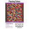 Floating Colours By Willyne Hammerstein of Millefiori Quilts Complete Paper Piecing Pack by Paper Pieces EPP Papers - OzQuilts