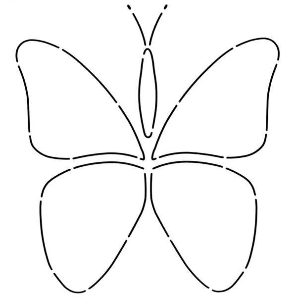 Large Butterfly Template Printable David Simchi Levi