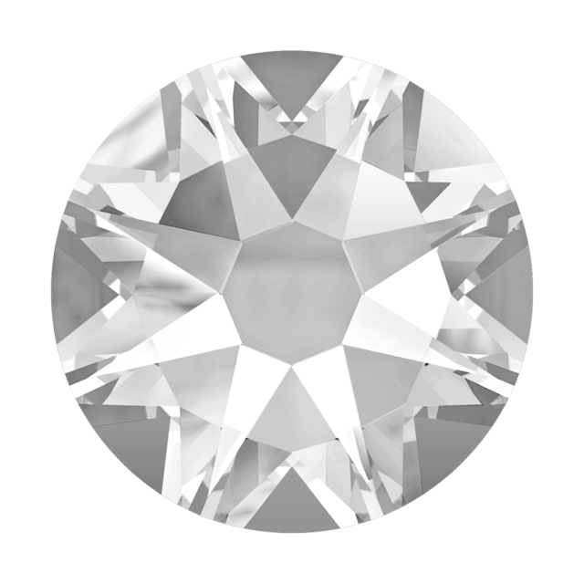 Swarovski Hotfix Flatback Crystals, Clear by Swarovski Swarovski Hot Fix Crystals - OzQuilts