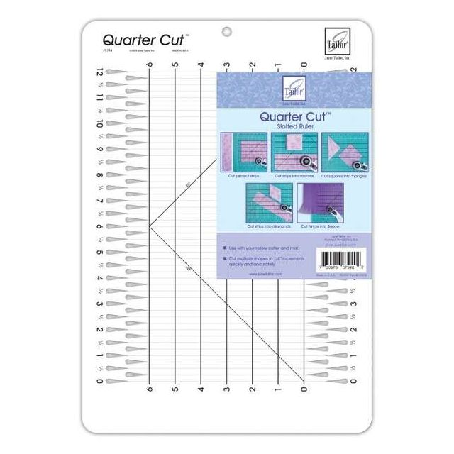 June Tailor Quarter Cut Ruler by June Tailor Great Gift Ideas - OzQuilts