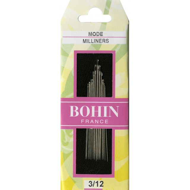 Bohin Discovery Pack 3/12 - Assorted Milliners Needles by Bohin Hand Sewing Needles - OzQuilts