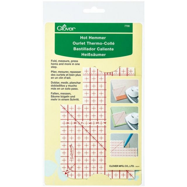 Clover Hot Hemmer Pressing Tool - Metric Measurements by  Irons & Pressing  - OzQuilts