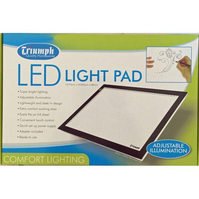 Triumph LED Light Pad A4 Size by Triumph Light Boxes - OzQuilts