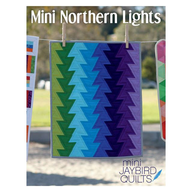 Mini Northern Lights by Jaybird Quilts - Quilt Patterns
