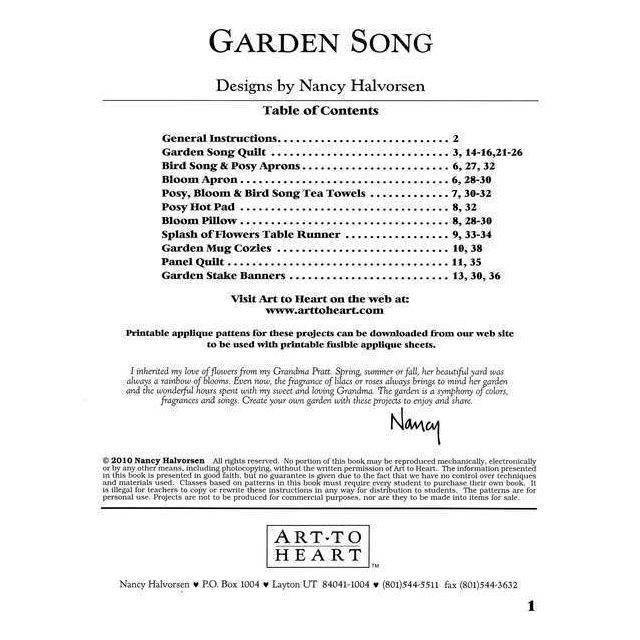Garden Song by Art to Heart - Art to Heart
