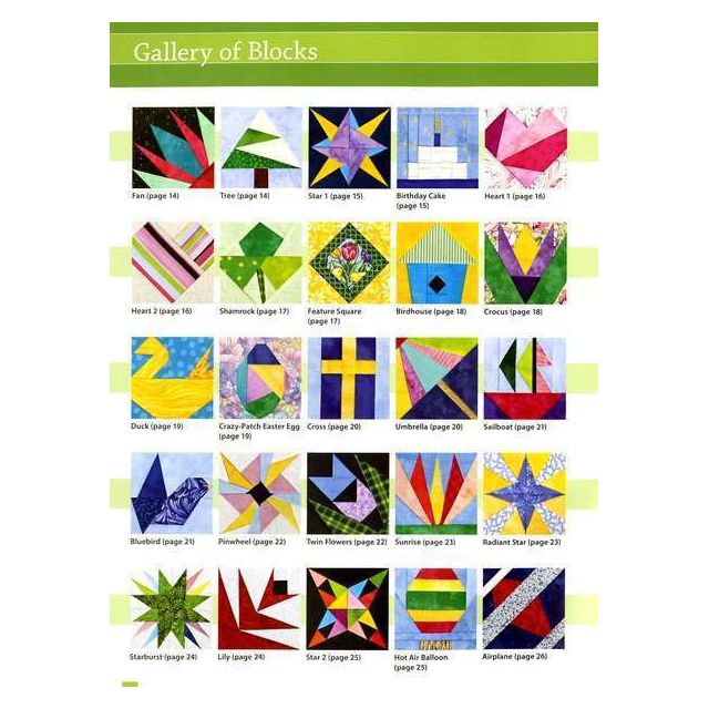 50 Little Paper Pieced Blocks By C T Publishing