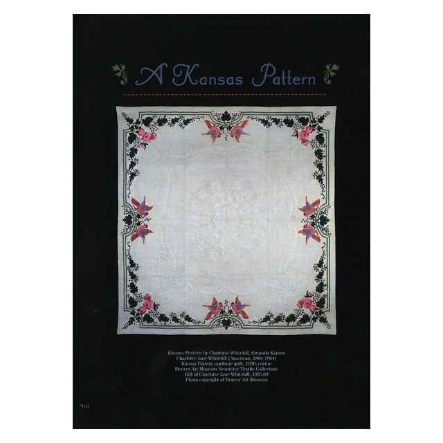 Garden Quilt: Interpreting a Masterpiece by Kansas City Star Applique - OzQuilts