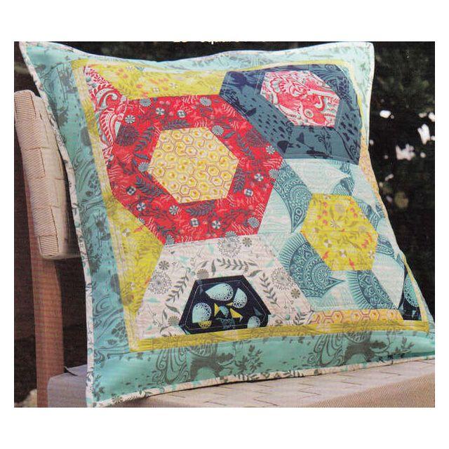 Jawbreaker Pillow by Jaybird Quilts - Cushions & Pillows