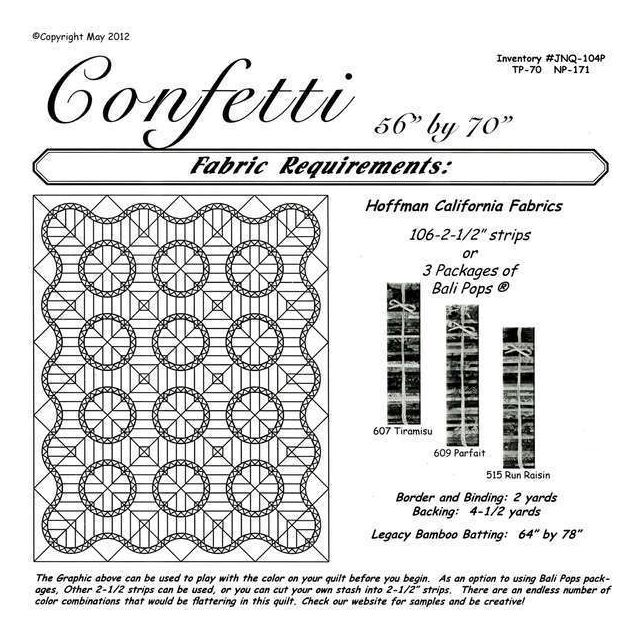 Confetti by Quiltworx Judy Niemeyer Quiltworx - OzQuilts