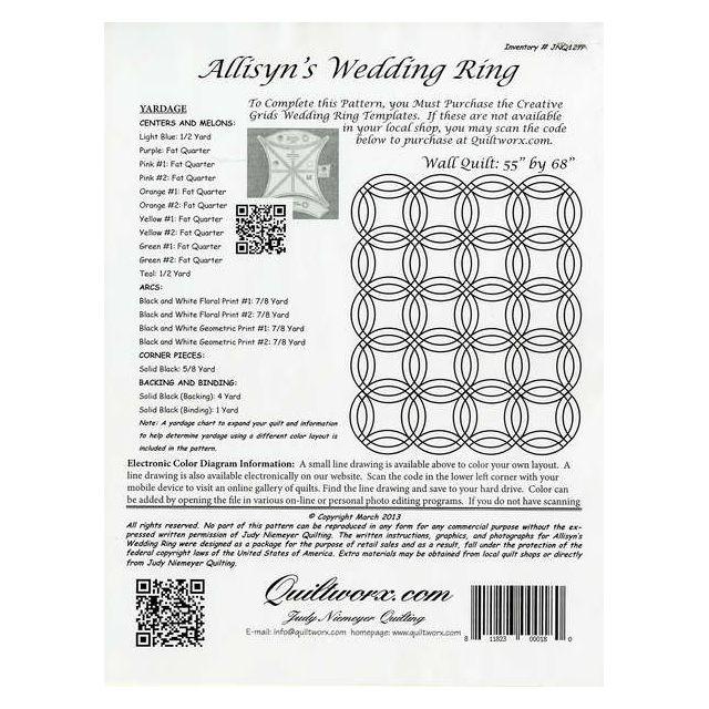 Allisyn's Wedding Ring by Quiltworx - Judy Niemeyer Quiltworx
