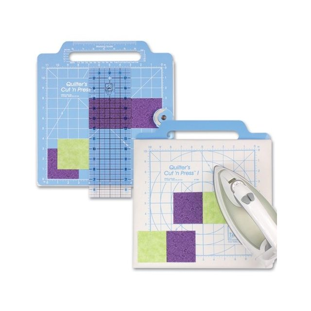 "June Tailor Quilter's Cut 'n Press 11"" x 11"" by June Tailor Cutting Mats - OzQuilts"