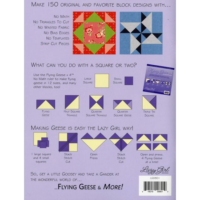 Flying Geese & More by Lazy Girl Designs - Techniques