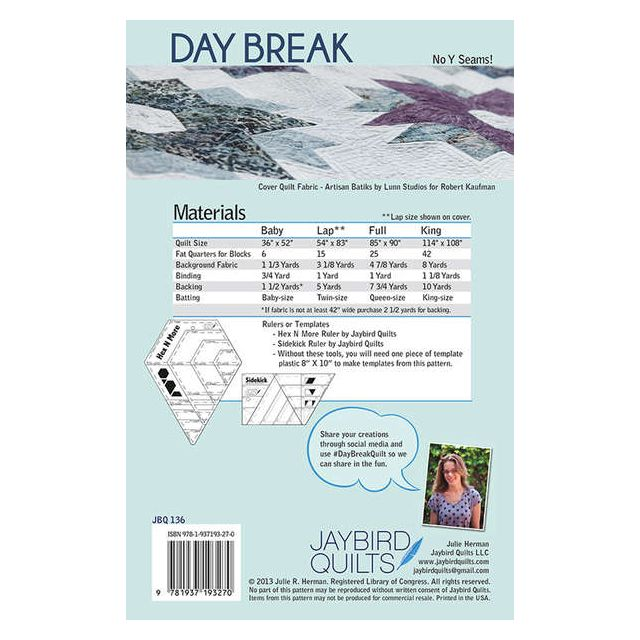 Day Break Quilt by Jaybird Quilts - Quilt Patterns