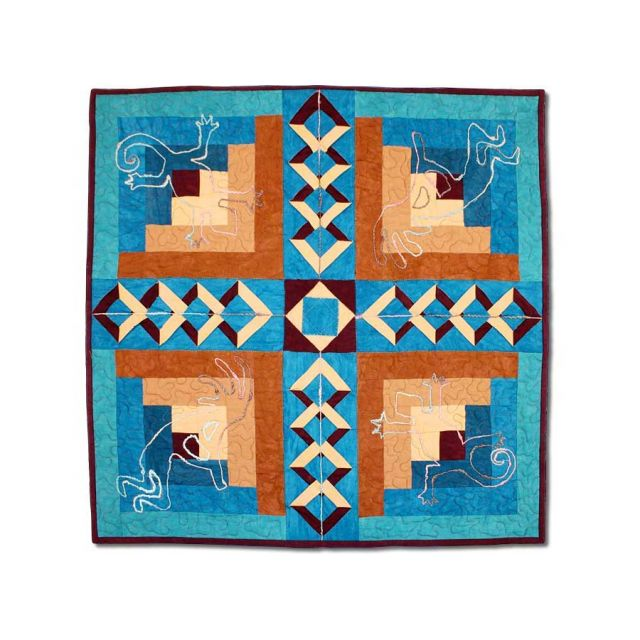 Desert Diamonds Wall Hanging & Table Topper by Bright Quilting Notions - Table Toppers, Tuffets & Runners