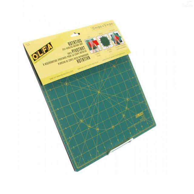 "Olfa Rotating Cutting Mat 12"" x 12"" by Olfa - Cutting Mats"