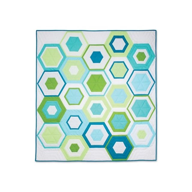 June Tailor You Hexie Thing Hexagon Ruler by June Tailor Hexagon Rulers - OzQuilts