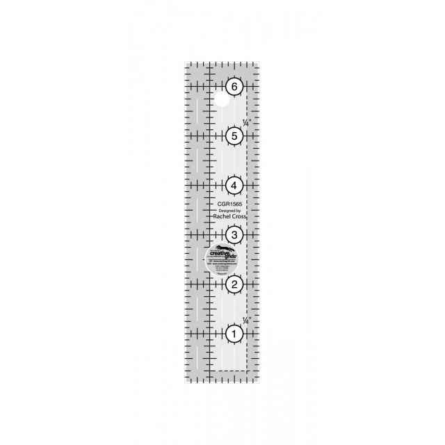 """Creative Grids Ruler 1½"""" x 6½"""" by Creative Grids - Rectangle Rulers"""