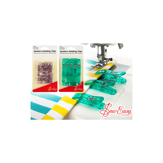 Sew Easy Quilters Wonder Clips , 20 Small Clips by Sew Easy Wonder Clips & Hem Clips - OzQuilts