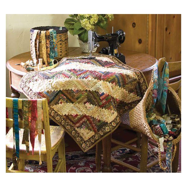 Friendship Strips And Scraps by Edyta Sitar of Laundry Basket Quilts Laundry Basket Quilts - OzQuilts