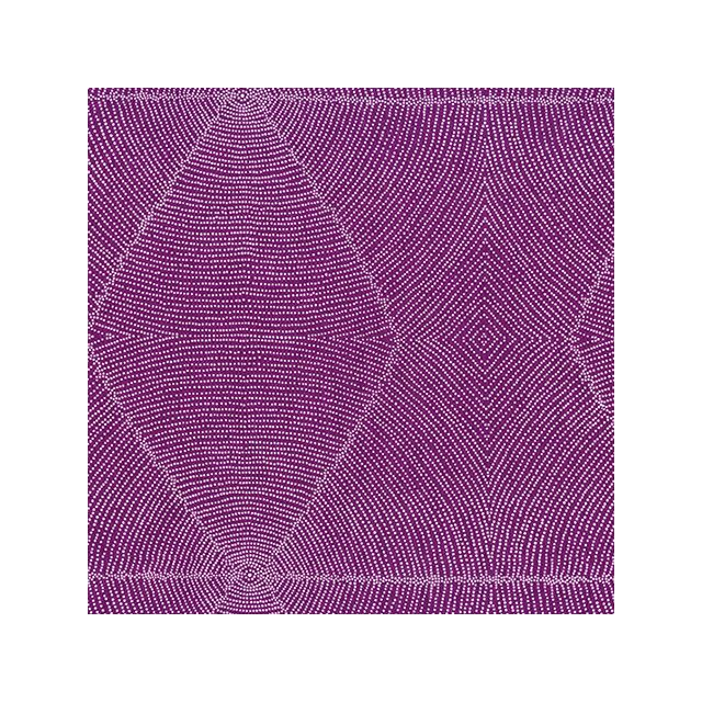 Plum Seeds Mauve Australian Aboriginal Art Fabric by Kathleen Pitjara by M & S Textiles Cut from the Bolt - OzQuilts