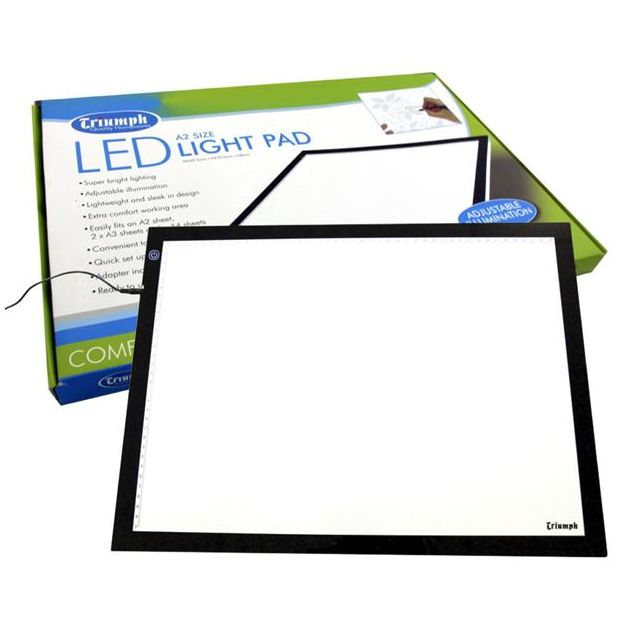 Triumph LED Light Pad A2 Size by Triumph Light Boxes - OzQuilts