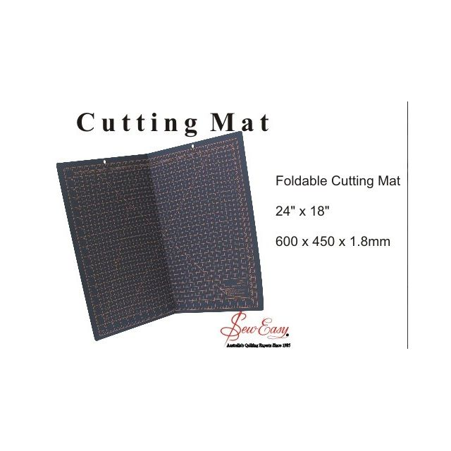 """Sew Easy Foldable Cutting Mat 24"""" x 18"""" by Sew Easy Cutting Mats - OzQuilts"""