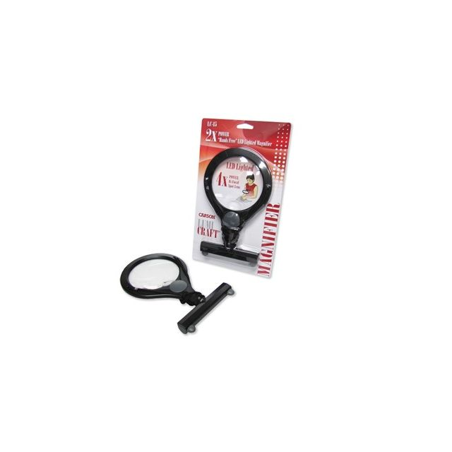 Carson Hands Free Lighted Magnifier by Carson - Lights & Magnifiers