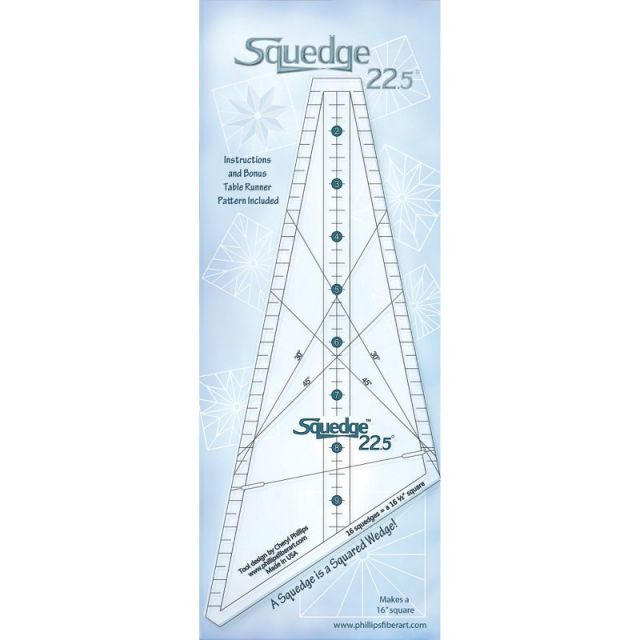 18 Degree Squedge Ruler by Cheryl Phillips by Phillips Fiber Art Wedge Rulers - OzQuilts