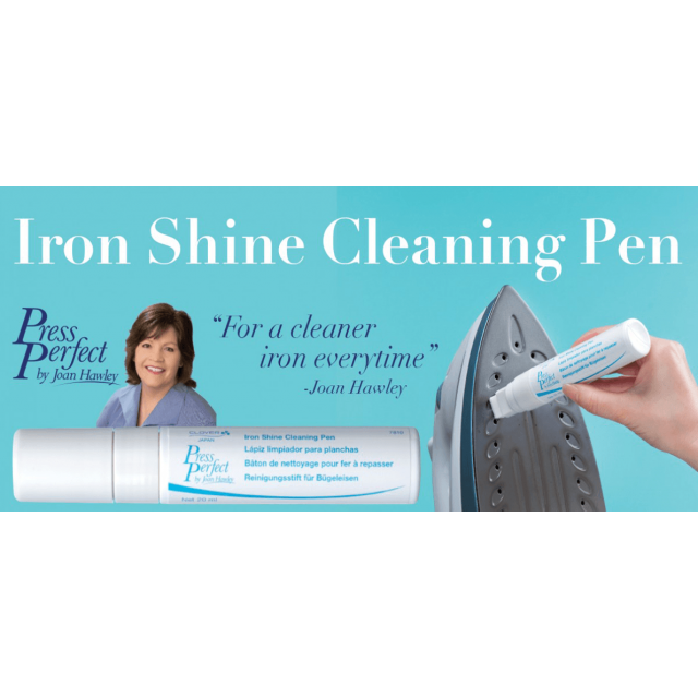 Clover Press Perfect Iron Shine Cleaning Pen by  Irons & Pressing  - OzQuilts